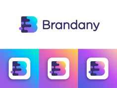 Brandany logo concept | Photo and video editing service by Vadim Carazan  - Dribbble