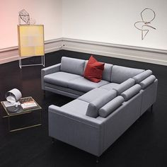 Cooper sofa designed by Says Who   Choose grey wool, rosa velour or one of the 133 (!) other fabric/colour options.  #Sayswho #Boliacom #Nooneliveslikeyou #Newscandinaviandesign