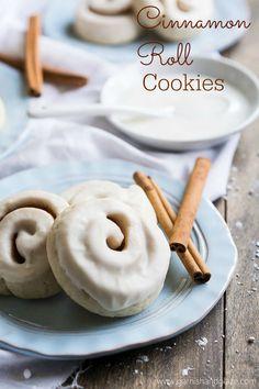 Cinnamon Roll Cookies - Penney Lane #TriplePFeature