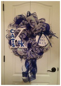 UK Deco Mesh Wreath