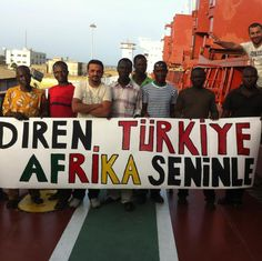 Resist Turkey. Africa is with you