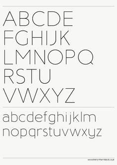 Baufra humanist sans-serif typeface by Mariya V. Pigoulevskaya, via Behance