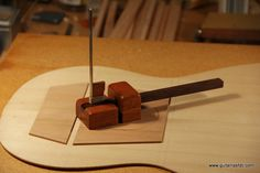 cutting out the soundhole