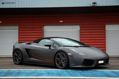 Lamborghini Gallardo roadster grey matte by Affolter