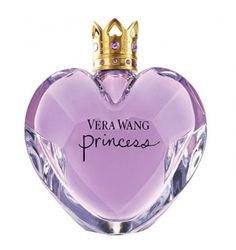 Princess by Vera Wang. This extraordinary fragrance was created by Vera Wang. The bottle looks like a heart-shaped jewel, very fine and elegant, a symbol of magical charm and romantic in lilac tones.Launched in 2006 as a modern and playful magical elixir, it celebrates youth and femininity