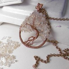 OOAK Tree of Life natural copper and by NellaBorsadiMaryPopp