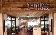 Jamie's Italian - North Terminal. Jamie's Italian Gatwick has been specially designed with a welcoming, family atmosphere, traditional décor and a menu that's driven by what you'd find ordinary people eating in Italy. We cook rustic, simple dishes, with the best-quality, seasonal ingredients, all made with care but delivered without lots of fuss. Our aim is to create a place where you'll feel right at home, tucking into great food.