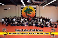 TEAMGV at USSD HQ for Hanshi Jack Turner's seminar!