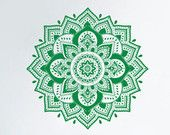 Indische Mandala Wall Decal Yoga Muster Buddha Ganesh Design Schlafzimmer Home…