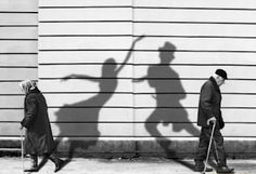 Shadows of the past.  Make me a little bit sad, most younger people think, to be old is an disease.