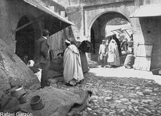 Tanger Old photographs of Tangier La Alhondiga de granos, fotos, old, century, photos, nineteenth, xix, siglo