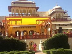 #Rambagh Palace, once the residence of the Maharaja of Jaipur can also be an excellent location from your dream wedding. From local folk dances you can arrange all that your heart desires.#shlokaevents #luxuryweddingplanner