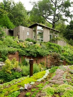 Stützmauer ideen für den Garten-bauen Hangsicherung