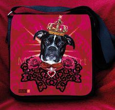 Boxer King Tasche Hund Hundetasche Dog Bag von MargaritaKriebitzsch, €69.00