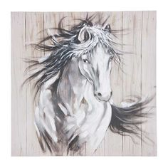 40 X 40 Painting, Horse