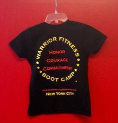 Kids Warrior Shirts!