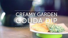 Velata Recipe of the Month— September 2013 Creamy Garden Gouda Dip (+pla...