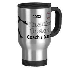 Personalized Baseball Coaches Gift Ideas Coach Mug