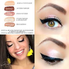 Gorgeous Makeup: Tips and Tricks With Eye Makeup and Eyeshadow – Makeup Design Ideas Eyeliner For Beginners, Makeup Tutorial For Beginners, Blue Eye Makeup, Glitter Makeup, Glitter Eyeshadow, Diy Makeup, Makeup Tips, Makeup Ideas, Makeup Geek