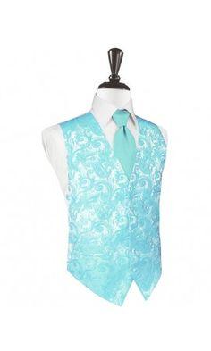 Pool Tapestry Tuxedo Vest