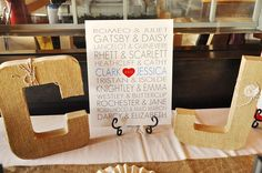 Famous Literary Love Couples   Wedding Rehearsal Dinner Ideas