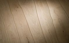 """Why are floorboards straight when trees are not? Dutch flooring company Bolefloor says """"It wasn't nature that created straight floorboards: it was the limitations of technology."""" They have a really interesting idea, using """"wood Natural Wood Flooring, Unique Flooring, Terrazzo Flooring, Cork Flooring, Parquet Flooring, Hardwood Floors, Garage Flooring, Modern Flooring, Flooring Ideas"""