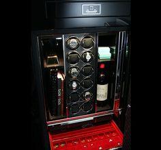 Stockinger Luxury Watch Winder Cabinets & BRABUS SV12 Safe luxury items #luxurysafes #homesafes #highendsafes