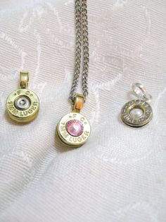 Ammo Bullet Charm Necklace  Ammunition Casing on by ShadedLines, $15.00