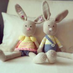 bunnies :) pattern by lilleliis