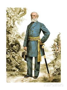 Robert E. Lee, Confederate Army Commander Giclee Print by Science Source at…