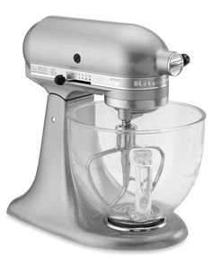 KitchenAid Artisan Design Series Stand Mixer, Sugar Pearl Silver