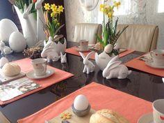 TIZIANO Ostern Tischdekoration Frühstück