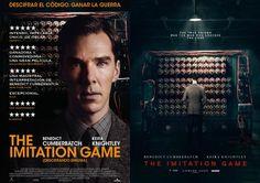 Collage de los carteles THE IMITATION GAME , http://albertosanzdepelicula.blogspot.com.es/2015/01/the-imitation-game-descifrando-enigma.html