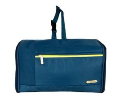 Travelon The Travelon Flat Out Toiletry Kit is the perfect convertible design, having the ability to be opened out flat for packing in your suitcase (taking up minimal precious space) or zippered into a compact case with convenient strap handle.
