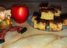 Kakaós, almás süti