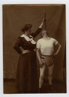 Sword Swallower. 1910s