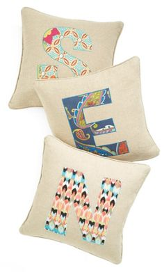Cute Personalized Canvas Pillows http://rstyle.me/n/t764wbh9c7