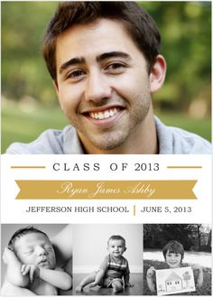 Handmade Boys And Baby Picture Pattern High School Graduation Invitation 30 Image Inspirations From High School Graduation Invitations Party Invitations