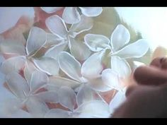 In this first of two videos, I'll show you how to paint a simple flower cluster with five-petal leaves.