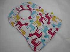 Horse Snap Bib  Ann Kelle Urban Zoologie  Baby by adrisadorables