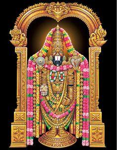 Sri Venkateshwara - Tirumala Venkateswara Temple (Tirumala, Andhra Pradesh)