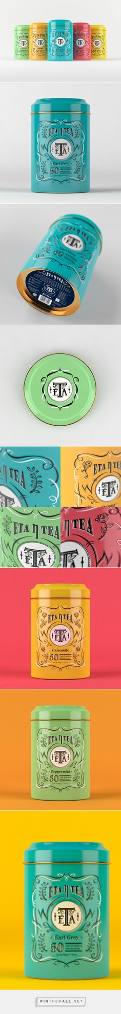 ETA TEA Concept by Dickson Wong #packaging #design