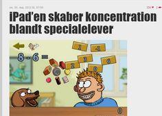 iPad'en skaber koncentration blandt specialelever - Folkeskolen.dk