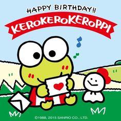 HBD!!!! #Keroppi ヾ(@⌒ー⌒@)ノ