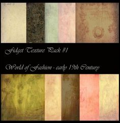 Hi Res 19th Century Texture Pack - http://www.welovesolo.com/hi-res-19th-century-texture-pack/