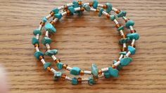 Memory wire bracelet for sale