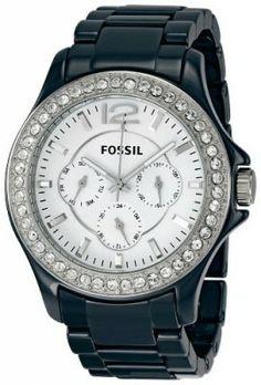 9716328627d Relógio Fossil Women s CE1045 Riley White Dial Watch  Fossil Relógio  Relógios Femininos