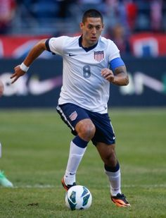 Clint Dempsey (forward) of USA.