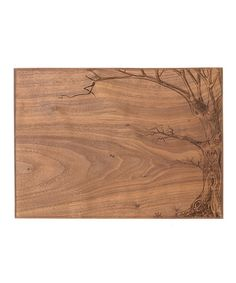 Take+a+look+at+the+Love+Tree+Walnut+Initial+Cutting+Board+on+#zulily+today!