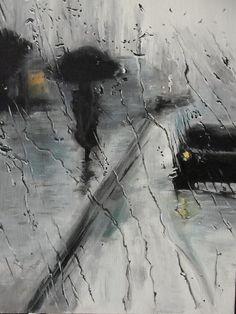 """""""La pioggia disseta la terra e i cuori malinconici. Bagna la bocca dei poeti."""" Stephen Littleword (Raining, Sergey Selivanov)"""
